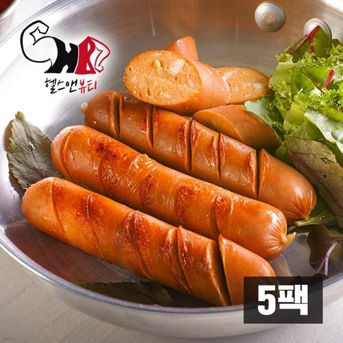 [헬스앤뷰티] 닭가슴살 소시지 청양고추맛 5팩