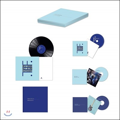 New Order (뉴 오더) - Movement (Definitive Edition) [LP+2CD+DVD 박스 세트]