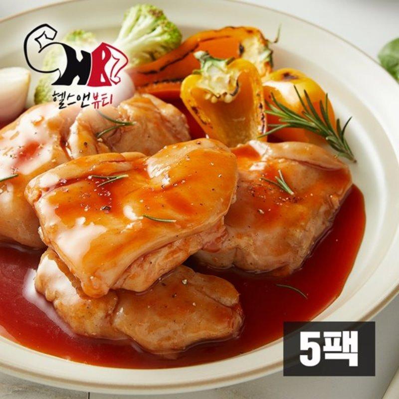 [헬스앤뷰티] 더 부드러운 닭가슴살 칠리맛 5팩