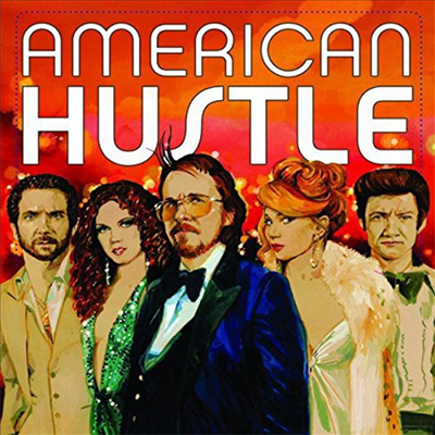 O.S.T. - American Hustle (아메리칸 허슬) (Red & Blue Translucent Vinyl 2LP)(Soundtrack)