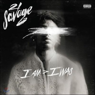 21 Savage - I Am > I Was 21 새비지 정규 2집 [2LP]