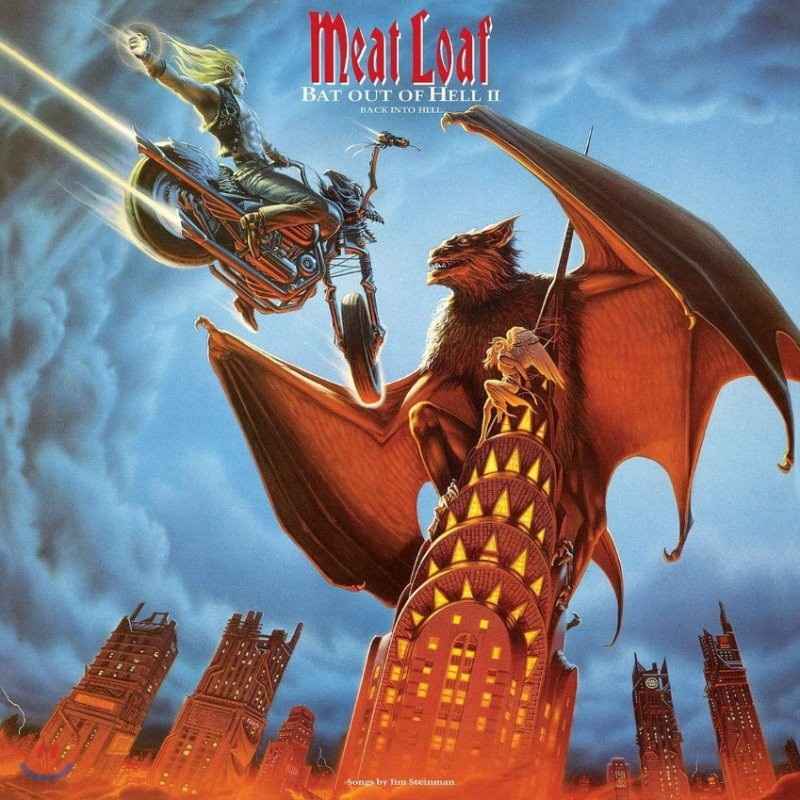 Meat Loaf (미트 로프) - Bat Out Of Hell II: Back Into Hell [2LP]
