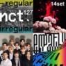 [미개봉][주로파][14종세트] 엔시티 127 (NCT 127) / NCT 2018 Empathy + Regular-Irregular + Regulate+Cherry Bomb(체리밤)