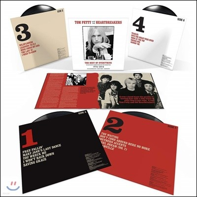 Tom Petty & The Heartbreakers (톰 페티 앤 더 하트브레이커스) - The Best Of Everything: The Definitive Career Spanning Hits Collection 1976-2016 [4LP 박스세트]