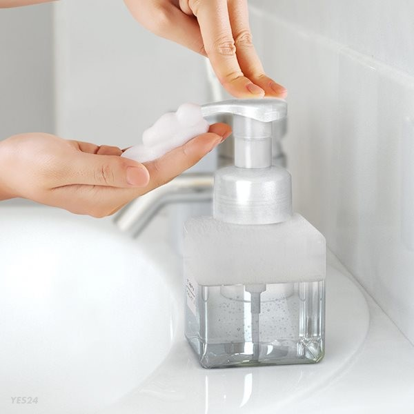 욕실 거품 디스펜서 ( 물비누 버블 용기 공병 ) 250ML