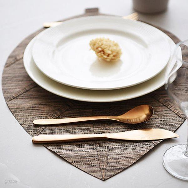 리프 식탁 테이블 매트 폴리지S