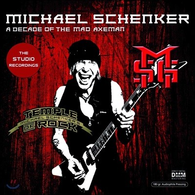 Michael Schenker (마이클 쉥커) - A Decade Of The Mad Axeman (The Studio Recordings) [2LP]