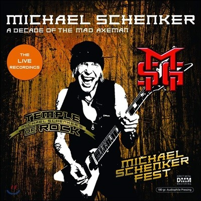 Michael Schenker (마이클 쉥커) - A Decade Of The Mad Axeman (The Live Recordings) [2LP]