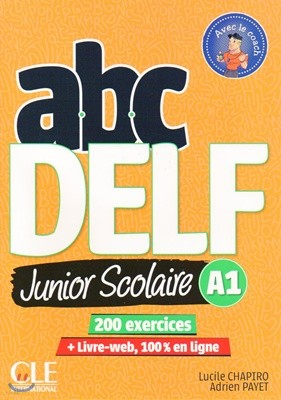 ABC Delf Junior Scolaire A1 (+DVD-Rom, Corriges, Livre-web)