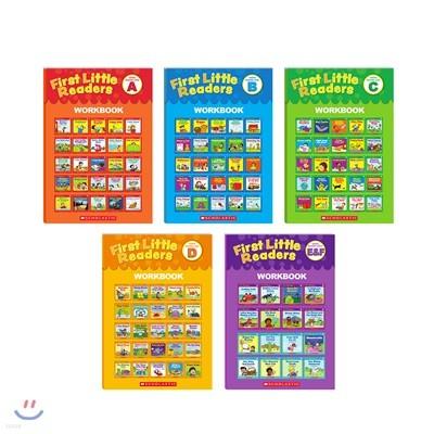 스콜라스틱 퍼스트 리틀 리더스 레벨 A-E&F 워크북 세트 (5권 구성/CD 미포함/본품 별매)