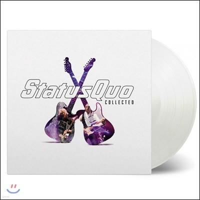 Status Quo (스테터스 큐오) - Collected [화이트 컬러 2LP]