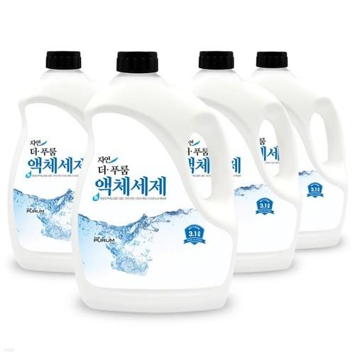 [공장직영]더푸룸 액체세제 (겸용) 3.2L × 3개 /세탁세제.세제
