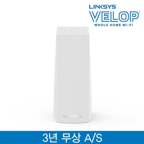 링크시스 벨롭 메시 Wi-Fi 듀얼밴드 기가 와이파이 AC1300 유무선공유기 1팩 WHW0101
