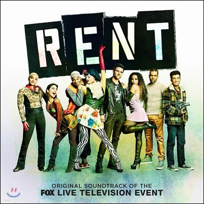 렌트 뮤지컬음악 (Rent Original Soundtrack of the Fox Live Television Event)