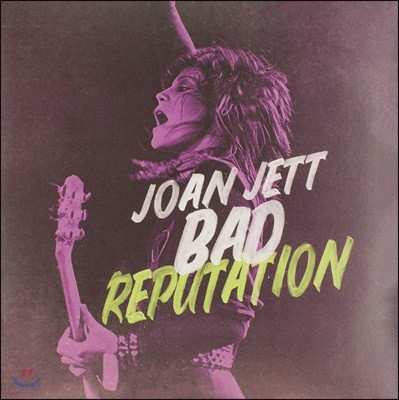 배드 레퓨테이션 다큐멘터리 음악 (Bad Reputation Music From The Original Motion Picture) [LP]