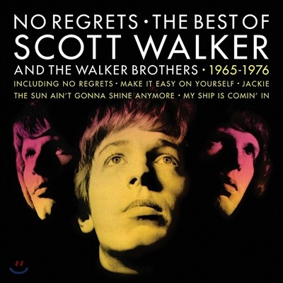 Scott Walker & The Walker Brothers (스캇 워커 & 워커 브라더스) - No Regrets: The Best Of [2LP]