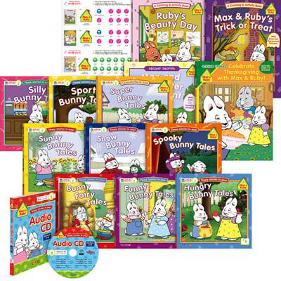 [세이펜] 맥스앤루비 Max and Ruby 스토리북 13종 세트 (Book & CD)