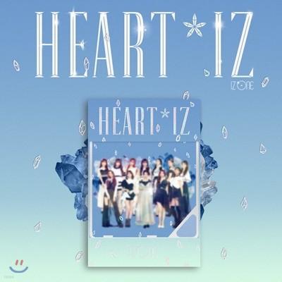 아이즈원 (IZ*ONE) - HEART*IZ [Sapphire ver.][스마트 뮤직 앨범(키노앨범)]