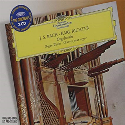 바흐 : 오르간 작품집 (Bach : Organ Works) (3CD) - Karl Richter