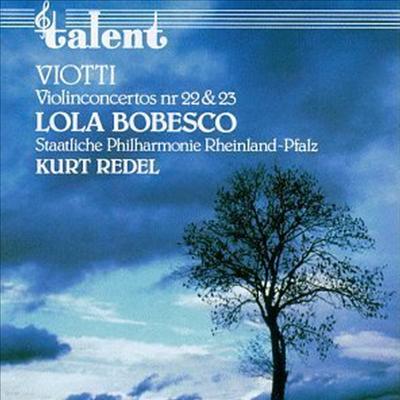 비오티 : 바이올린 협주곡 22번, 23번 (Viotti : Violin Concertos No.22, No.23) - Lola Bobesco