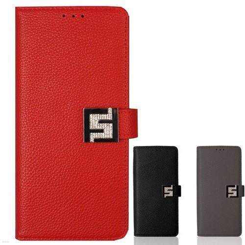 큐빅 스트랩 다이어리케이스(LG G8)