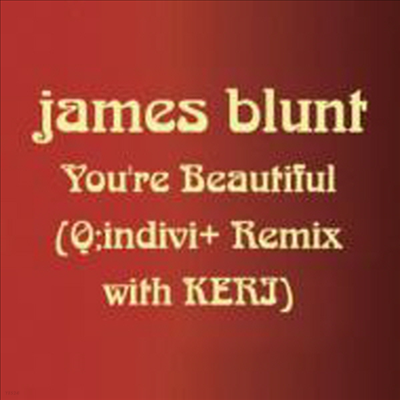 James Blunt - You`re Beautiful (Q; Indivi+Remix With Keri) (Single)(일본반)