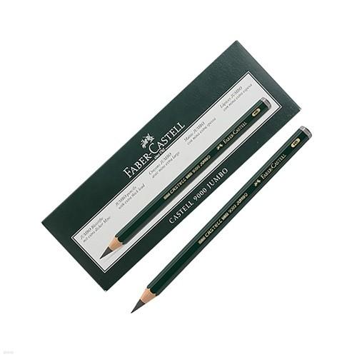 파버카스텔 9000 점보 연필 6본입 HB/2B/4B/6B/8B