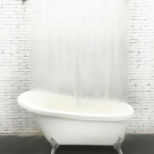 반투명 방수 샤워커튼 180 x 180cm