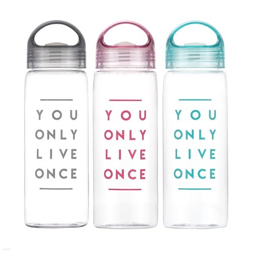 일러스트 보틀 트라이탄 욜로 손잡이 휴대용보틀 BPA free