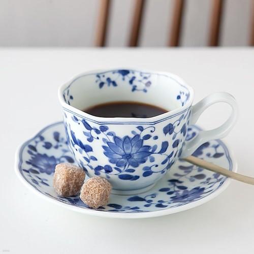 니코트 블루밍 커피잔 세트 JAPAN