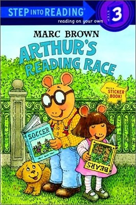 Step Into Reading 3 : Arthur's Reading Race with Sticker