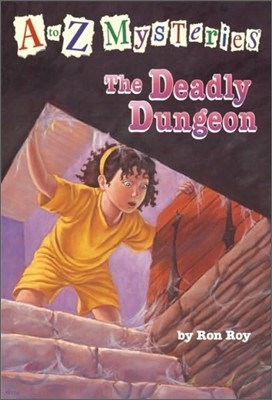 A to Z Mysteries # D : The Deadly Dungeon
