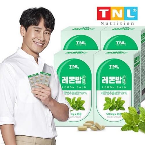 TNL뉴트리션 레몬밤 타블렛 4박스 (총 4개월분)