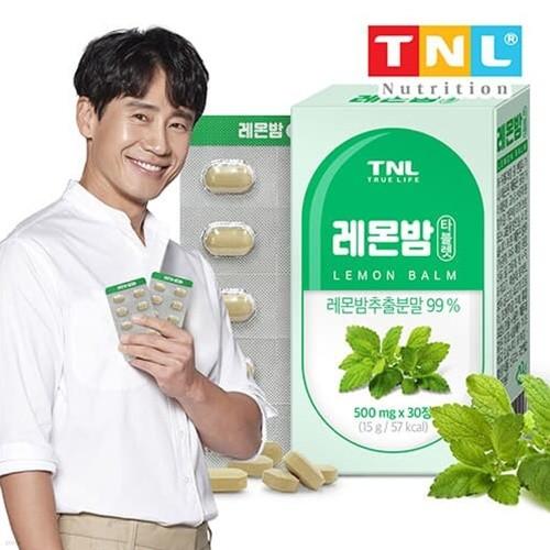 TNL뉴트리션 레몬밤 타블렛 1박스 (1개월분)
