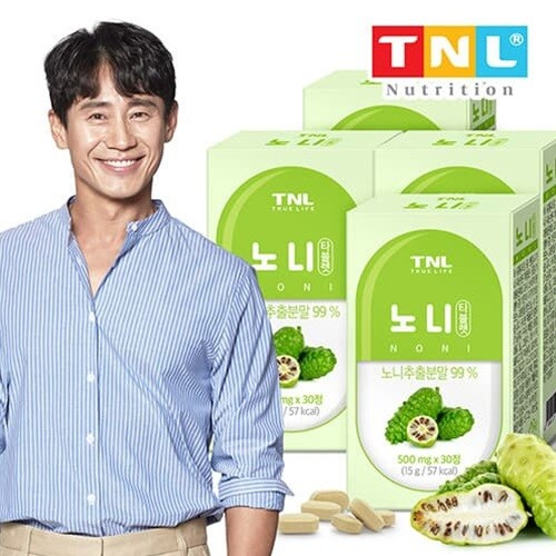 TNL뉴트리션 노니 타블렛 4박스 (총 4개월분)