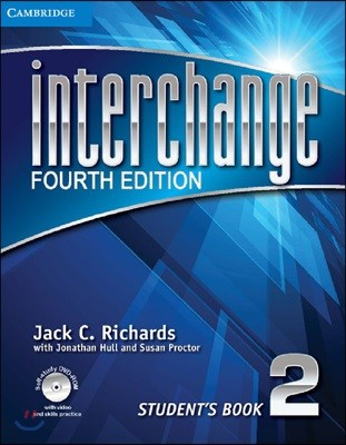 [4판] Interchange Level 2 : Student`s Book + Self-study Dvd-rom