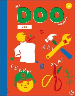 위 두 매거진 Wee Doo kids magazine (격월간) : Vol.02 [2019]