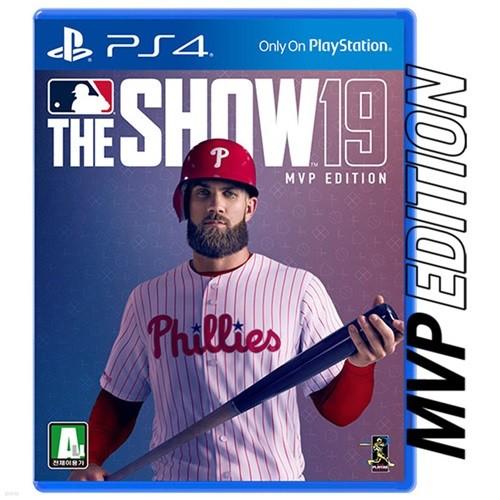 PS4 MLB THE SHOW 19 MVP 에디션 / MLB19 더쇼19