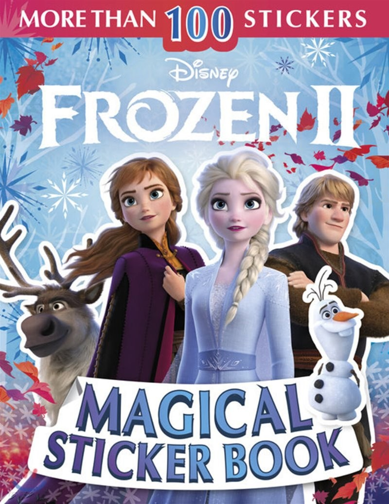 Disney Frozen 2 Ultimate Sticker Book 디즈니 겨울왕국 2 얼티밋 스티커북 (스티커 100개 포함)