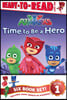 Pj Masks Ready-To-Read Value Pack: Time to Be a Hero; Pj Masks Save the Library!; Owlette and the Giving Owl; Gekko Saves the City; Power Up, Pj Masks