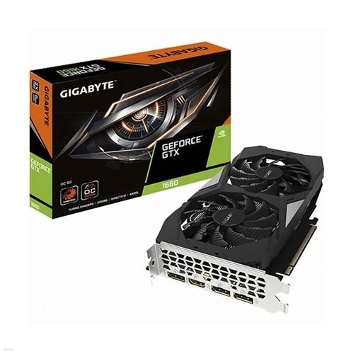 GIGABYTE 지포스 GTX 1660 UDV OC D5 6GB