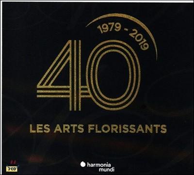 William Christie 레자르 플로리상 40주년 기념 음반 (Les Arts Florissants: 40 ans 1979 - 2019)
