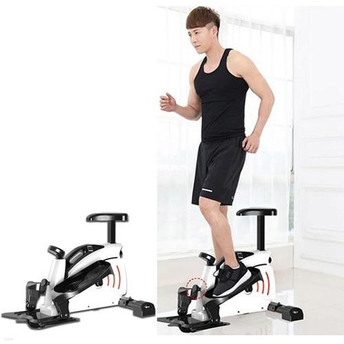 쿡헬스 스텝바이크 헬스머신 자전거 전신운동 실내운동기구 좌식형 스텝퍼 (S03502)