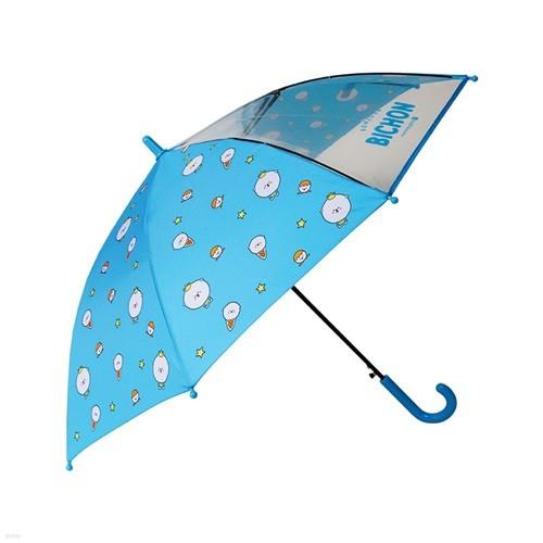 9000 비숑프렌즈 장우산(블루)