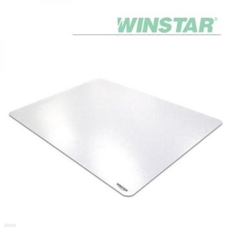 윈스타 반투명 300X215 A4 데스크 고무매트