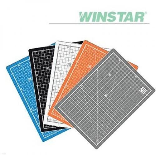 윈스타 PVC 칼라 620X450 A2  데스크 커팅 매트
