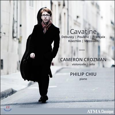 Cameron Crozman 20세기 초 프랑스 첼로 작품집 (Cavatine)