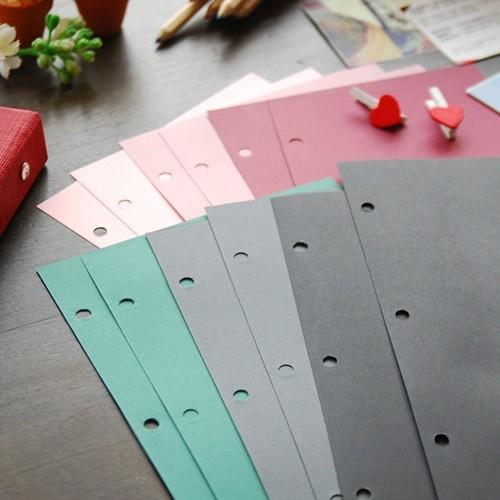 제이로그 스크랩 내지 SET (7color스크랩내지12매+블랙접착식내지5매)