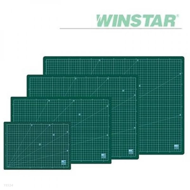 윈스타 녹색 500X380  데스크 고무매트 (중)