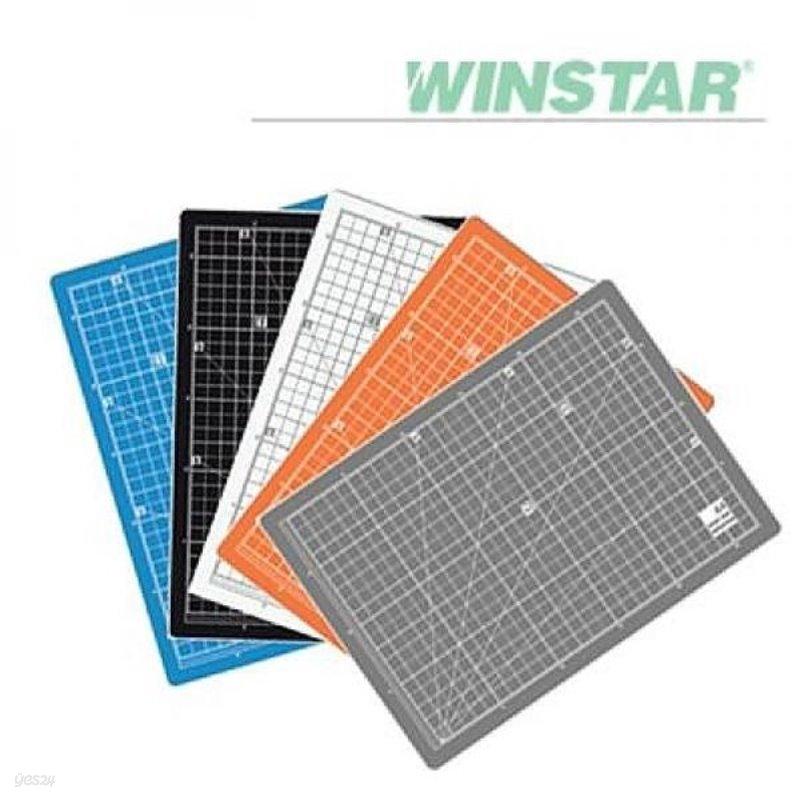 윈스타 칼라 300X215 A4 데스크 고무매트